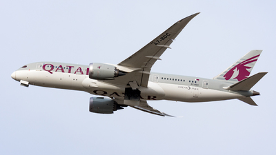 A picture of A7BDC - Boeing 7878 Dreamliner - Qatar Airways - © Magyar Gábor