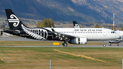 ZK-OXJ - Airbus A320-232 - Air New Zealand