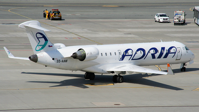 S5-AAW - Bombardier CRJ-701 - Adria Airways