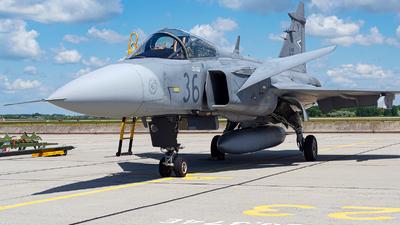 36 - Saab JAS-39C Gripen - Hungary - Air Force