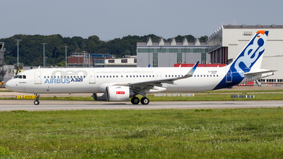 A picture of DAVXB - Airbus A321 - Airbus - © Alexander S.