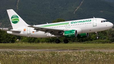 D-ASTT - Airbus A319-112 - Germania