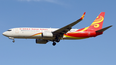 A picture of B1735 - Boeing 73786N - Hainan Airlines - © ShepherdWang