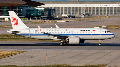 A picture of B308N - Airbus A320271N - Air China - © Too much or too little contrast