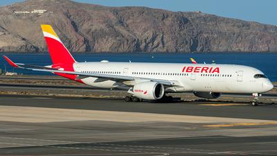 A picture of ECMYX - Airbus A350941 - Iberia - © Adolfo Bento de Urquía
