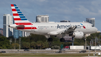 A picture of N775XF - Airbus A319112 - American Airlines - © Mark Lawrence