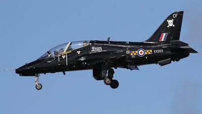 A picture of XX203 - BAe Systems Hawk T1A -  - © Nigel Fenwick