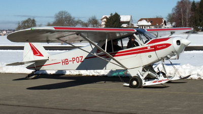 HB-POZ - Piper PA-18-150 Super Cub - Private