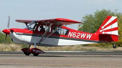 A picture of N62WW - American Champion 8KCAB - [9402003] - © Jeremy D. Dando