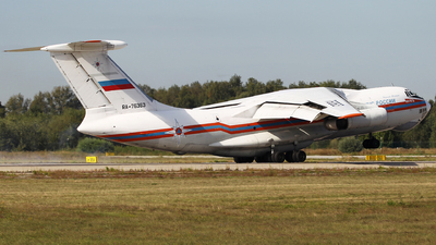 A picture of RA76363 - Ilyushin Il76TD - MCHS Rossii - © ShipSash