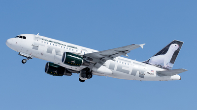 N949FR - Airbus A319-112 - Frontier Airlines