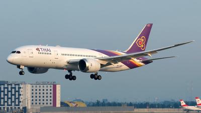 HS-TQD - Boeing 787-8 Dreamliner - Thai Airways International