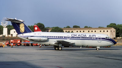 5N-AYU  - British Aircraft Corporation BAC 1-11 Series 401AK - Okada Air