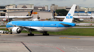 A picture of PHBVG - Boeing 777306(ER) - KLM - © Christian Wong