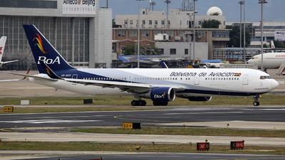 A picture of CP3017 - Boeing 767328(ER) - Boliviana de Aviacion - © china_sanmanceo