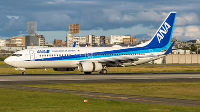 JA75AN - Boeing 737-881 - All Nippon Airways (ANA)