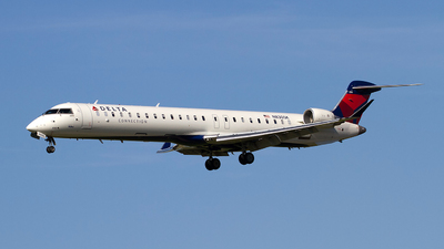 A picture of N830SK - Mitsubishi CRJ900LR - Delta Air Lines - © Jeremy D. Dando
