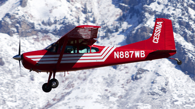 N887WB - Cessna A185F Skywagon - Private