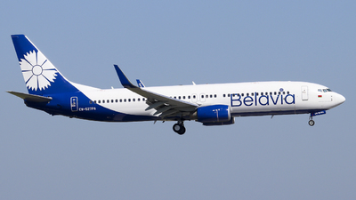 A picture of EW527PA - Boeing 73782R - Belavia - © Fabian Behr