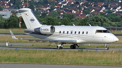 D-AAOK - Bombardier CL-600-2B16 Challenger 604 - DC Aviation