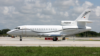 YV2040 - Dassault Falcon 900B - Venezuela - Air Force