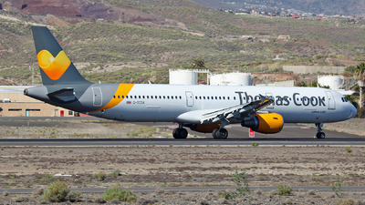 G-TCDA - Airbus A321-211 - Thomas Cook Airlines