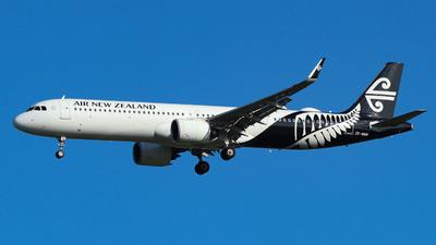 ZK-NNB - Airbus A321-271NX - Air New Zealand