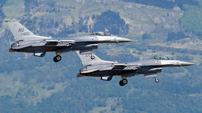 88-0460 - Lockheed Martin F-16CG Fighting Falcon - United States - US Air Force (USAF)