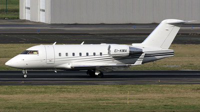 EI-KMA - Bombardier CL-600-2B16 Challenger 604 - Private