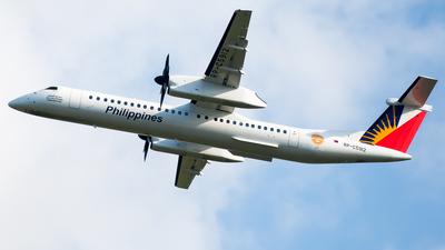A picture of RPC5912 - De Havilland Canada Dash 8400 - Philippine Airlines - © Gerard Belvis