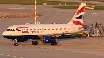 A picture of GEUPW - Airbus A319131 - British Airways - © Justin Stöckel