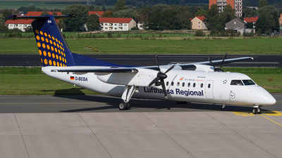 D-BEBA - Bombardier Dash 8-Q314 - Lufthansa Regional (Augsburg Airways)