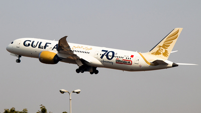 A9C-FB - Boeing 787-9 Dreamliner - Gulf Air
