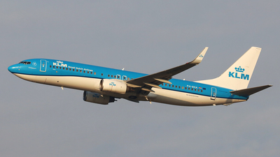 A picture of PHBXA - Boeing 7378K2 - KLM - © Ferenc Kolos