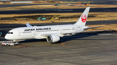 JA848J - Boeing 787-8 Dreamliner - Japan Airlines (JAL)
