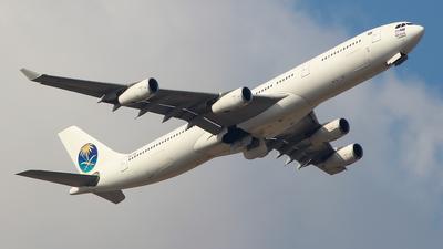 9M-XAB - Airbus A340-313X - AirAsia X (Saudi Arabian Airlines)