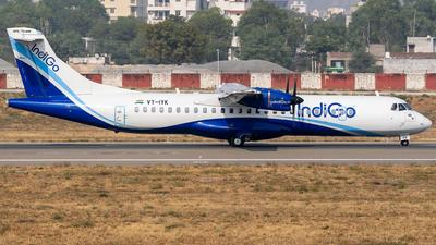 A picture of VTIYK - ATR 72600 - IndiGo - © Rohan Paliwal