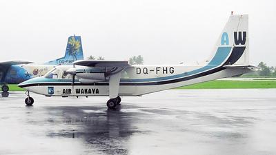 DQ-FHG - Britten-Norman BN-2B-26 Islander - Air Wakaya