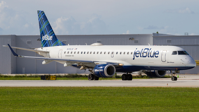 N306JB - Embraer 190-100IGW - jetBlue Airways