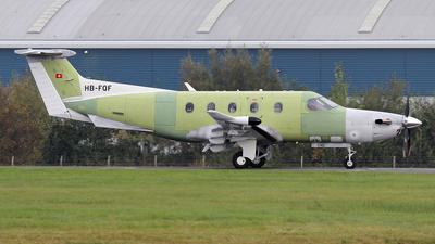 HB-FQF - Pilatus PC-12/47E - Pilatus Aircraft