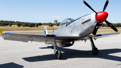 VH-DQY - Titan T-51 Mustang - Private