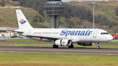 EC-ICL - Airbus A320-232 - Spanair