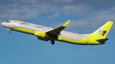 A picture of HL8012 - Boeing 7378SH - Jin Air - © YunHyeok Choi