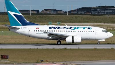 C-GWSI - Boeing 737-6CT - WestJet Airlines