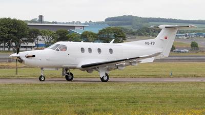 A picture of HBFSI - Pilatus PC12 -  - © Ian Howat