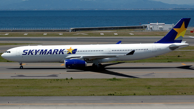 JA330A - Airbus A330-343 - Skymark Airlines