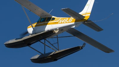 N48JG - Cessna A185F Skywagon - Private