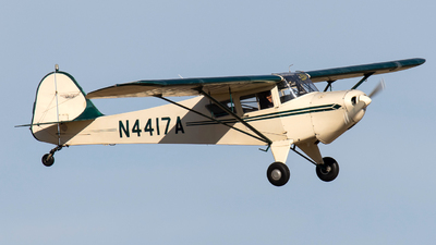 N4417A - Taylorcraft F-21B - Private
