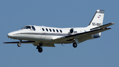 S5-BBG - Cessna 550 Citation II - Private