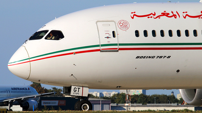 CN-RGT - Boeing 787-8 Dreamliner - Royal Air Maroc (RAM)